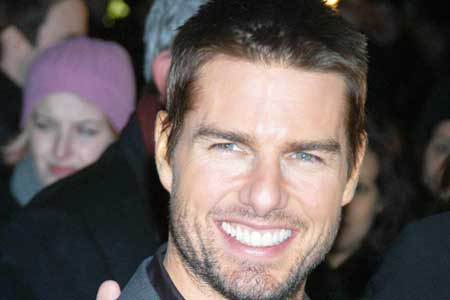 Tom Cruise buzz cut - hot men's haircuts