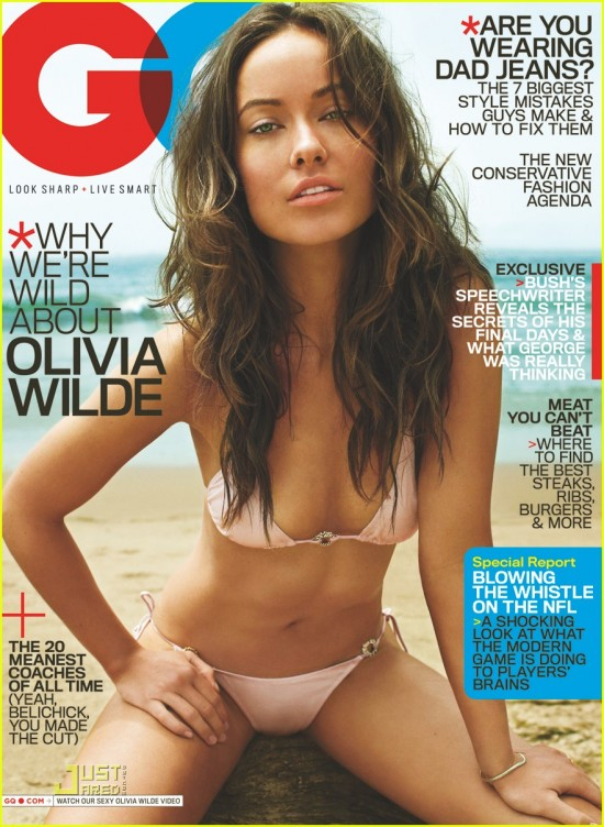 tags: cover, GQ, images, magazine, October 2009, Olivia Wilde, video