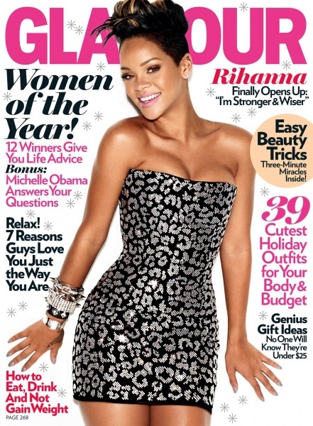 Rihanna-Glamour-December-2009-Cover-Picture