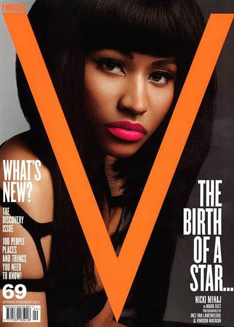 Nicki Minaj V Cover. tags: cover, Nicki Minaj, V